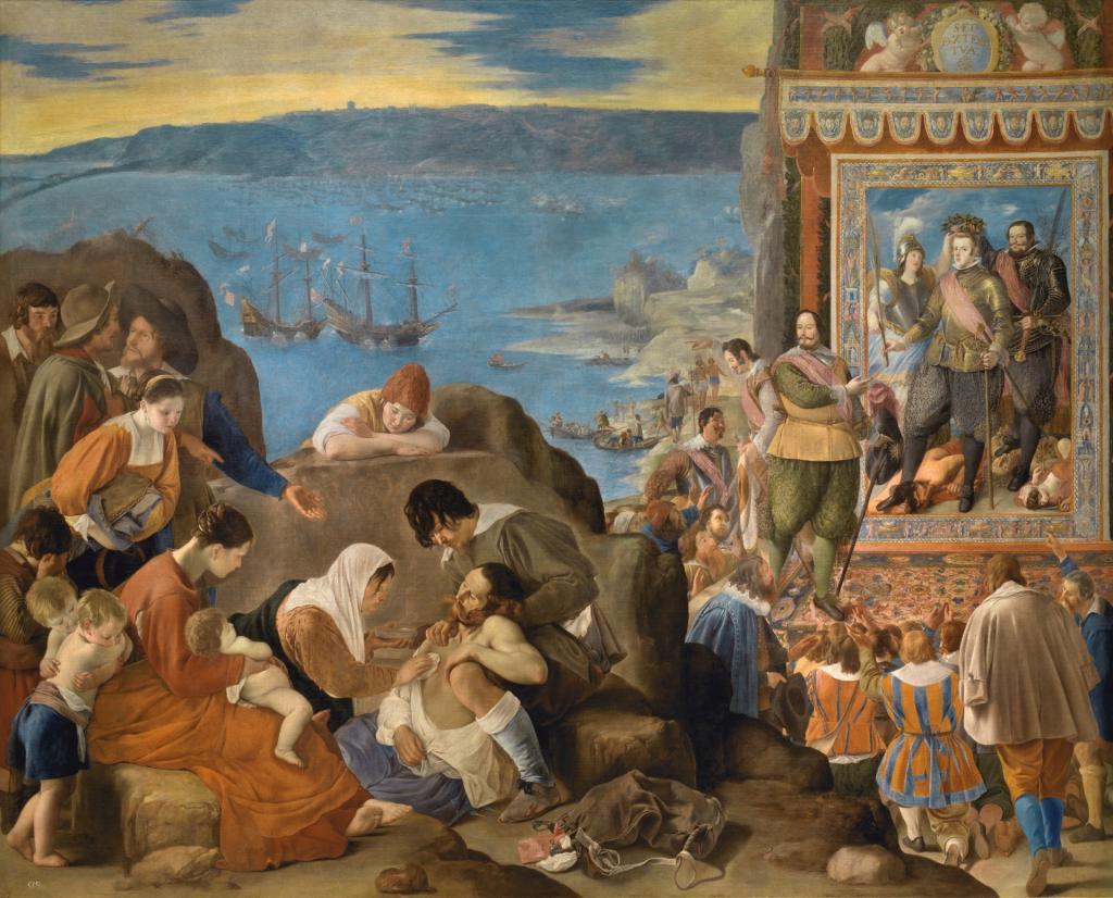 La Recuperación de Bahía de Todos los Santos. Fray Juan Bautista Maíno.