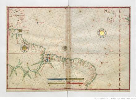 [7a carte. Océan Atlantique central], [Atlas nautique du monde]