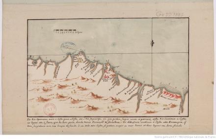 Do Rio O Panama, corre a costa quasi a l'Este, ate o Rio Jaguaripe ... / [por Joao Teyxeira ]