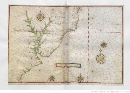 [8e carte. Océan Atlantique Sud-Ouest], [Atlasnautique du monde]